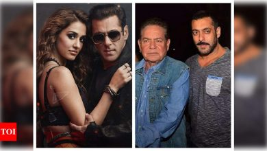 """Salman Khan's father Salim Khan reviews 'Radhe: Your Most Wanted Bhai', says it is """"not a great film"""" - Times of India"""