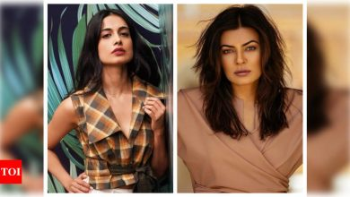 Sarah Jane Dias: I really look up to Sushmita Sen; she is the epitome of beauty, strength, and resilience - Times of India