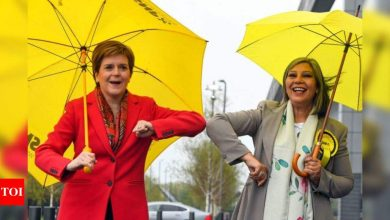Scottish government sets stage for another independence vote - Times of India