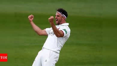 Somerset's Jack Brooks becomes county cricket's first Covid substitute | Cricket News - Times of India