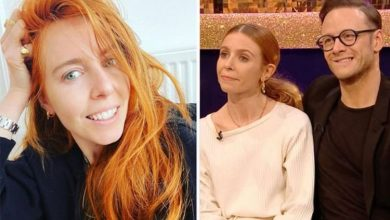 Stacey Dooley worries she'll 'be single' after boyfriend Kevin Clifton discovers purchase