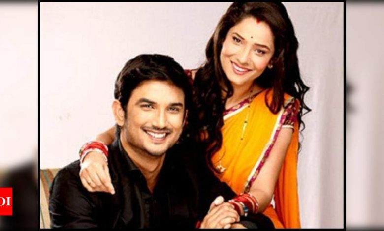 Sushant Singh Rajput and Ankita Lokhande's picture from 'Pavitra Rishta' gets featured in Bengali textbook for children - Times of India