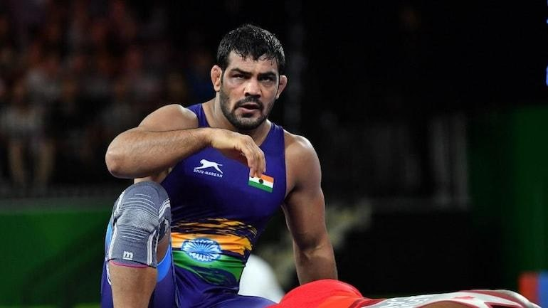 Two-time Olympics medallist Sushil Kumar is the main accused in the Sagar Rana murder case. (AFP Photo)
