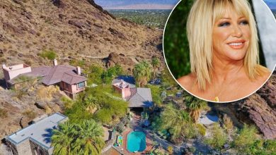 Suzanne Somers sells Palm Springs compound, headed to 'sexy' new house