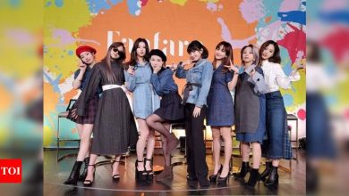 TWICE unveils first teaser of their comeback album 'Taste of Love', announces June release - Times of India