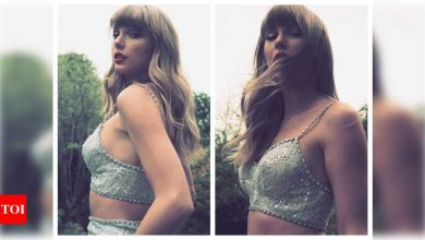 Taylor Swift accepts Global Icon Brit Award in a lehenga; Indian Swifties are loving her desi side - Times of India