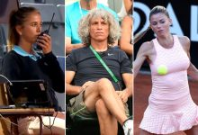 Terrified umpire calls for help after 'uncomfortable' moment with Camila Giorgi's dad