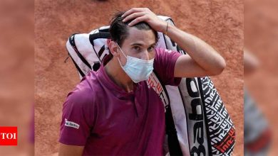 Thiem knocked out by Andujar in French Open first round   Tennis News - Times of India