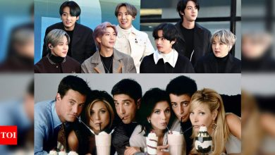 Throwback: When BTS' RM revealed that he leaned English by watching 'Friends' - Times of India