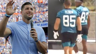 Tim Tebow's Jaguars jersey is already a top-seller