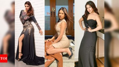 Times Shehnaaz Gill slayed in body-hugging dresses - Times of India