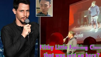Tony Hinchcliffe dropped by agents after slur against comic Peng Dang