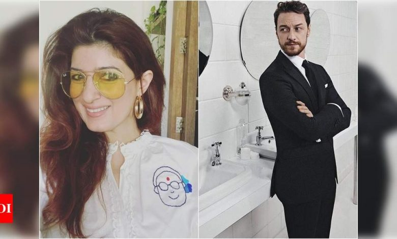 Twinkle Khanna praises James McAvoy for his plea to donate for Covid resources in India - Times of India