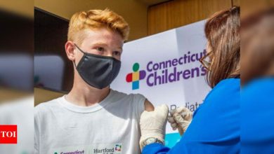 US kicks off world's first mass Covid vax drive for 12-15 year olds - Times of India
