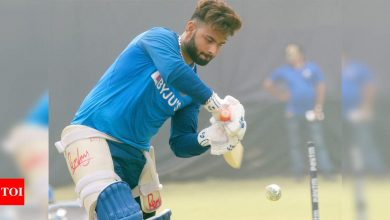WATCH: Rishabh Pant turns to mowing to stay active while indoors | Off the field News - Times of India