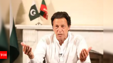 We stand with Gaza, we stand with Palestine: Pak PM Imran Khan - Times of India