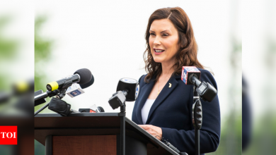 Whitmer administration rescinds rule she ignored at bar - Times of India