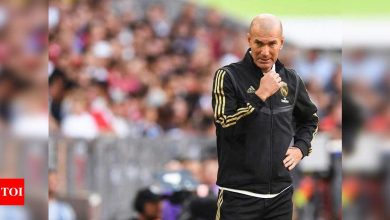 Zinedine Zidane resigns as Real Madrid coach: Reports   Football News - Times of India