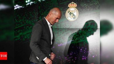 Zinedine Zidane resigns as coach of Real Madrid   Football News - Times of India