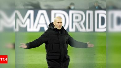 Zinedine Zidane says quit Real Madrid because of club's lack of 'faith'   Football News - Times of India