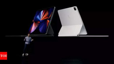 iPad Pro:  Apple iPad Pro with M1 chip over 50% faster than previous gen model as per benchmark tests - Times of India