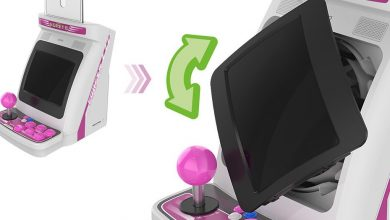 Taito announces mini arcade cabinet with rotating screen and trackball controller