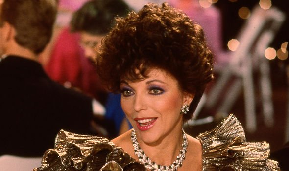 Joan Collins starred in Dynasty