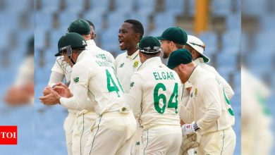 1st Test: Rabada rips through West Indies as South Africa seal innings win   Cricket News - Times of India
