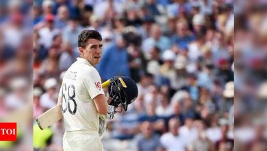 2nd Test: Burns, Lawrence keep England afloat against New Zealand | Cricket News - Times of India