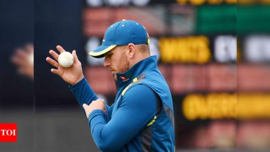 Aaron Finch:  Aaron Finch hopes Australia players will soon be allowed to take families on tours   Cricket News - Times of India