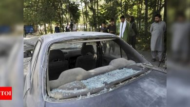 Afghan official: 11 killed in roadside bombing in north - Times of India