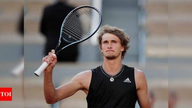 Alexander Zverev powers into first French Open semi-final   Tennis News - Times of India