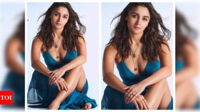 Alia Bhatt looks like she walked out of a midsummer's dream in this stunning click - Times of India