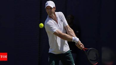 Andy Murray downbeat on chances of return to top | Tennis News - Times of India