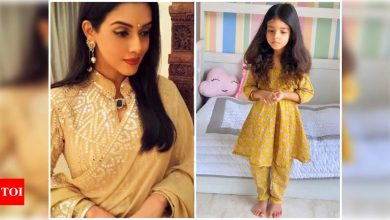 Asin shares a photo of her daughter Arin's kathak practice - Times of India