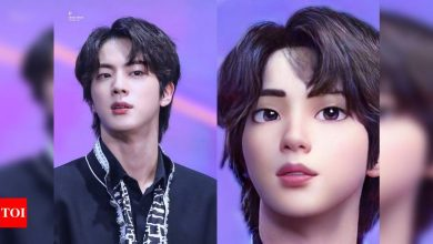 BTS' Jin gets a Disney version; pictures go viral on Internet - Times of India