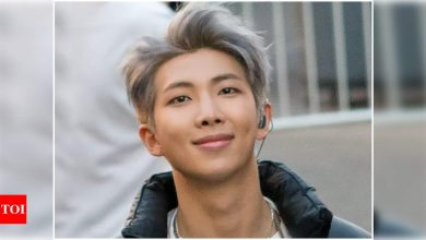 BTS leader RM expresses gratitude to ARMYs for raising COVID-19 relief funds, expresses a desire to visit India soon - Times of India