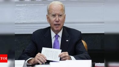 Biden faces growing pressure from the left over voting bill - Times of India