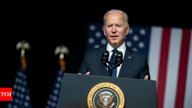 Biden to return diverted border wall money, spend down rest - Times of India