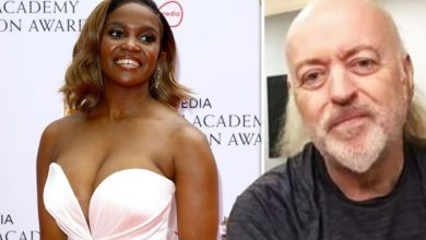 Bill Bailey takes swipe at Oti Mabuse over The Masked Dancer rumour 'Got a bone to pick'