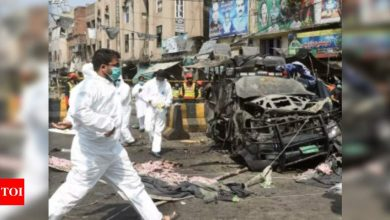 Blast in Lahore: Two killed, 17 injured in Lahore blast   World News - Times of India