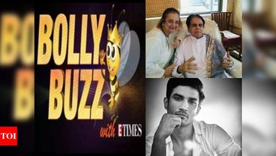 Bolly Buzz: Dilip Kumar gets discharged from the hospital; Remo D'Souza talks about late Sushant Singh Rajput - Times of India ►