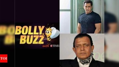 Bolly Buzz: Mithun Chakraborty virtually questioned for allegedly violence-inciting speeches, Salman Khan's 'Bhaijaan' scheduled to release on Diwali next year - Times of India