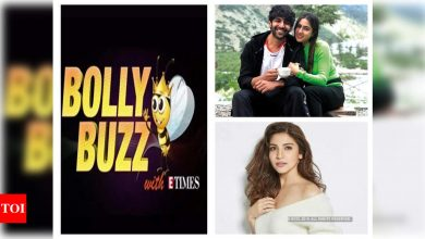 Bolly Buzz: Sara Ali Khan and Kartik Aaryan to reunite for a love story, Anushka Sharma puts her maternity clothes for online sale, international action directors to be roped in for Shah Rukh Khan's 'Pathan' - Times of India ►