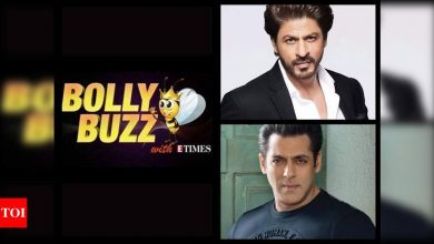 Bolly Buzz: Shah Rukh Khan to resume 'Pathan' shoot; Salman Khan keeps his promise to cine workers - Times of India ►