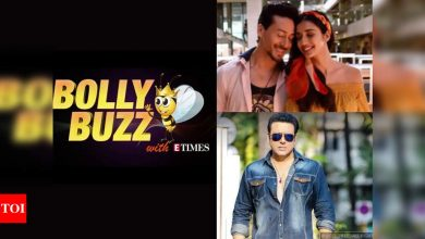 Bolly Buzz: Tiger Shroff-Disha Patani booked by Mumbai Police, Govinda clears his name from KRK's fight with Salman Khan - Times of India