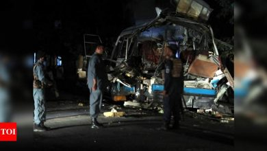 Bombs in Afghan capital Kabul kill at least 10, wound 12 - Times of India