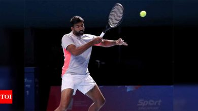Bopanna-Skugor progresses to third round at French Open   Tennis News - Times of India