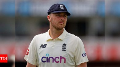 Boris Johnson criticises suspension of England paceman Ollie Robinson over racist tweets | Cricket News - Times of India