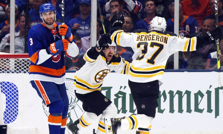 Brad Marchand's OT goal lifts Bruins to Game 3 win over Islanders